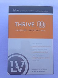 Le-Vel Thrive Premium Shake Mix Single Servings - 16 Per Box