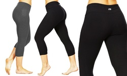 Tummy Control Leggings: Black/L 221706