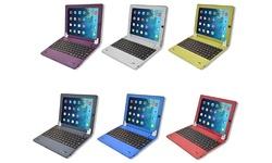 Digital Bluetooth Keyboard & Screen Protector for iPad 2/3/4 - Black