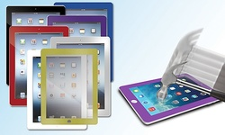 Tempered Glass Screen Protector for iPad 2/3/4: Blue