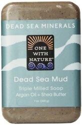 One With Nature Dead Sea Mud Dead Sea Minerals Soap - 7 Oz Bar (00007)
