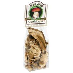 FungusAmongUs Organic Dried Porcini Mushrooms - Pack of 8 - 1 Oz