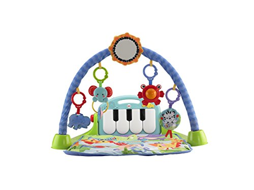 004bb8612 Fisher-Price Kick And Play Piano Gym - Blue Green (BMH49) - Check ...