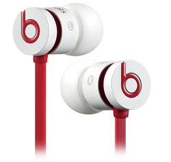Beats By Dre UrBeats In-Ear Headphones - White/Red
