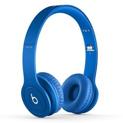 Beats by Dre Solo HD Drenched On-Ear Headphones with Mic - Matte Blue
