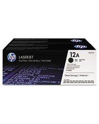 HP LaserJet Q2612D Dual Pack Black Print Cartridges