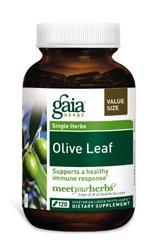 Gaia Herbs Olive Leaf Vegetarian Liquid Phyto Capsules -120 ct