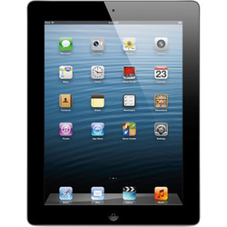 Apple iPad with Retina Display 128GB Wi-Fi + 4G Verizon - Black (ME406LL/A)