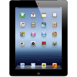 "Apple iPad 9.7"" Tablet 32GB Wi-Fi for Verizon 4G - Black (MC744LL/A)"