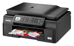 Brother Wireless Color Inkjet All-In-One Printer, Copier, Scanner, Fax, MFC-J470DW Item # 168239