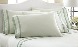 Amrapur Overseas 6-Piece 1000TC Egyptian Cotton Sheet Set - Jade - King