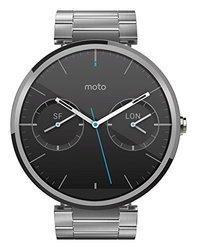 Motorola Moto 360 Smart Watch - Light Metal - Size: 46MM