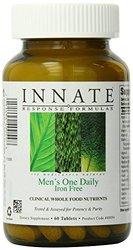 Innate Response Formulas Men's One Daily Iron Free Tablets 0.55lbs, 60