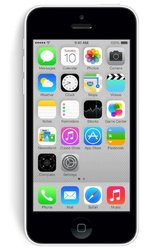 Unlocked Apple iPhone 5c 32GB Smartphone - White (MF154LL/A)