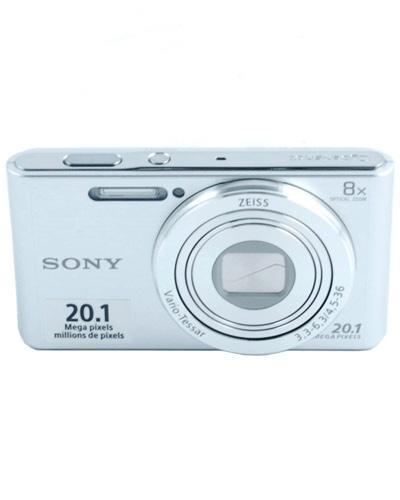 ... Sony 20.1MP Digital Camera Bundle with 8GB Memory Card - Silver (DSCW830) ...