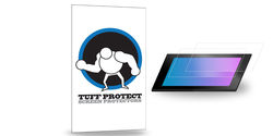 Tempered Glass Screen Protector For iPad 2/3/4: Black