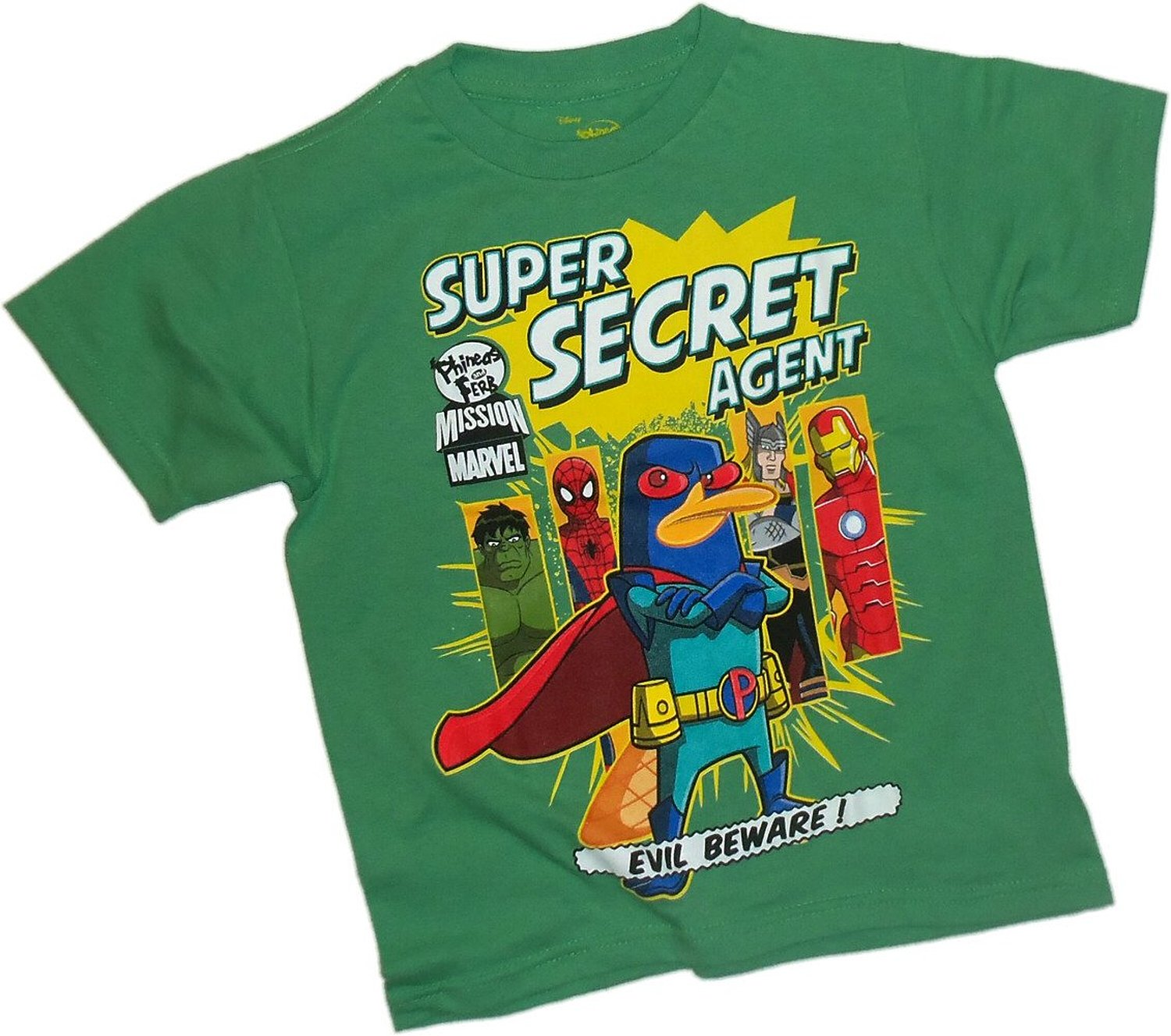 Phineas And Ferb Guitar: Disney Super Secret Agent Phineas And Ferb Mission Marvel