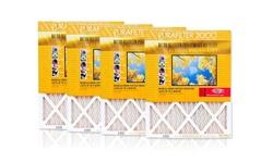 "Purafilter Gold High-efficiency Air Filters: Pf-g1230/12x30x1"""