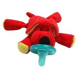 Wubbanub Infant Plush Toy Pacifier - Dog