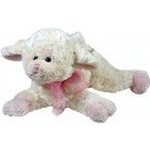Plush Musical Lamb Plays Jesus Loves Me Pink Check Back Soon