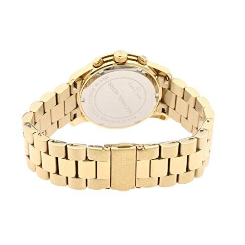 97cf077ce10d ... Michael Kors Women s Midsized Chronograph Watch - Gold Tone (MK5055) ...