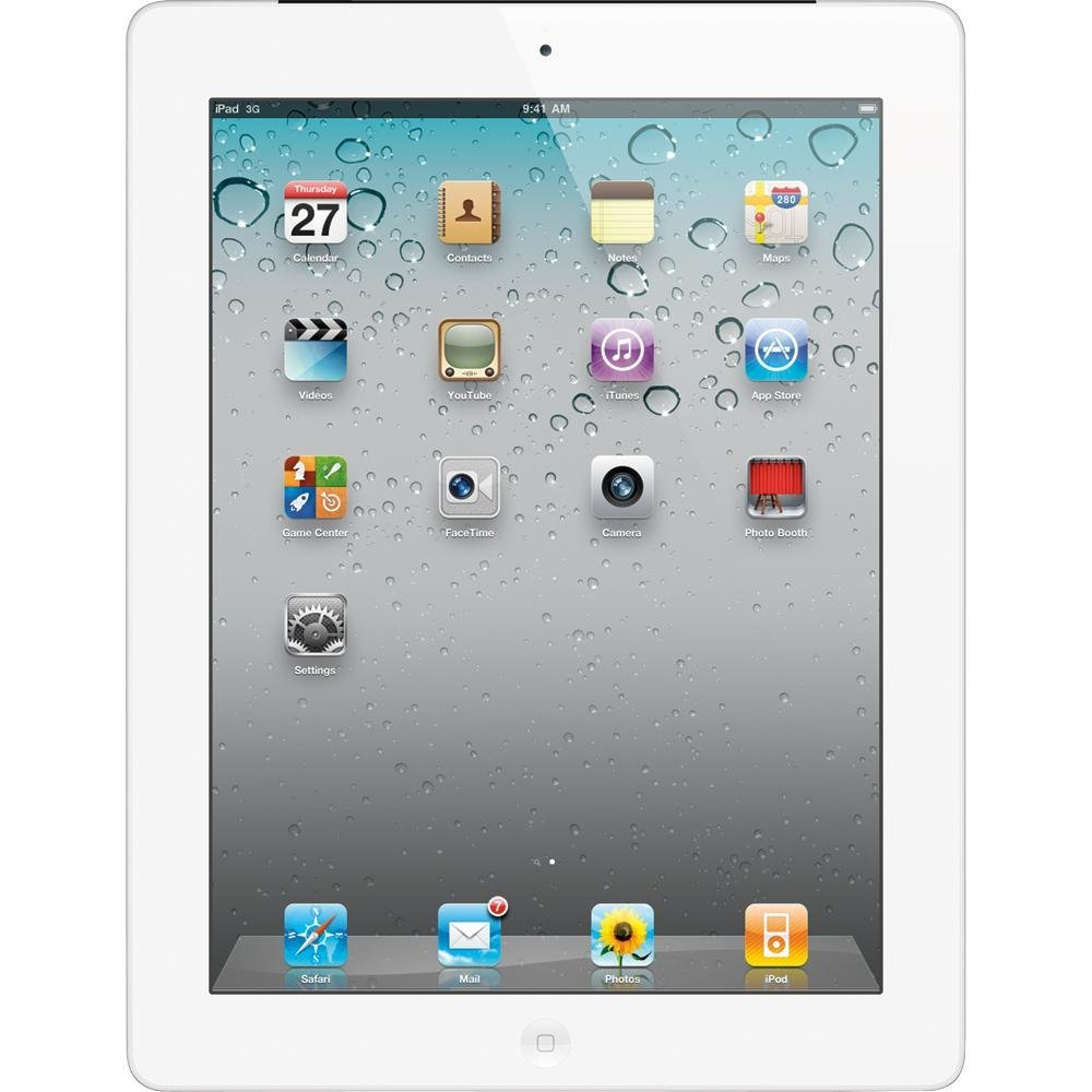 Apple Ipad 2 97 Tablet 32gb Wifi White Mc990ll A Check Back Pro 129 Grey Only