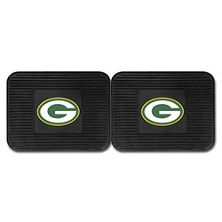Fanmats 2 Pack of NFL Utility Mats: Green Bay Packers