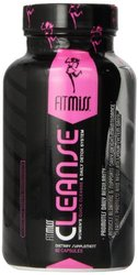 Fitmiss Cleanse & Daily Detox System,1350mg Capsules, 60 Count