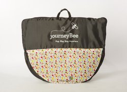 Parentlab JourneyBee Portable Crib, Black