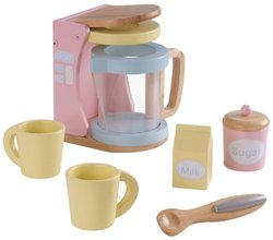 KidKraft Wooden New Coffee Set