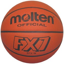 Molten FX7 Basketball (Orange, Official/Size 7)