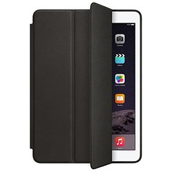 Apple Leather Smart Case For iPad Air 2nd Generation Tablet: Black