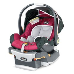 Chicco Keyfit 30 Infant Car Seat and Base - Red/Grey