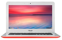 "ASUS 13"" Chromebook 2GB 16GB Chrome OS - Red (C300MA-DH01-RD)"