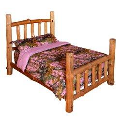 The Woods Premium Microfiber CAMO Comforter - Pink - Size: Queen