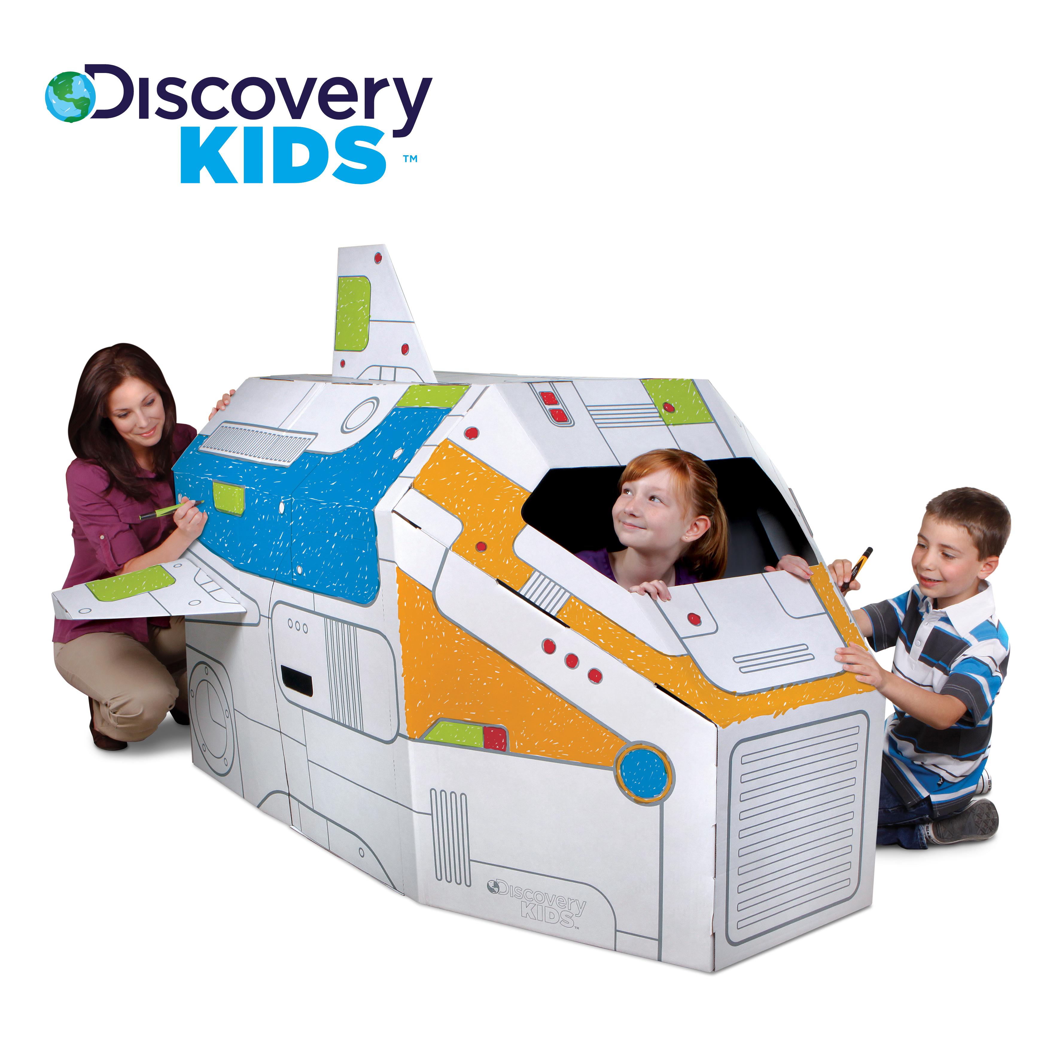 discovery kids 5 ft cardboard rocket ship check back soon blinq