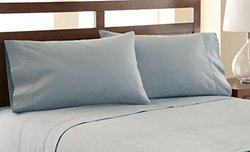 1200TC Egyptian Cotton Rich Sheet Set: Slate/CK