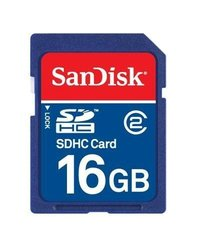 SanDisk 16GB Class 2 SDHC Flash Memory Card SDSDB-016G-A11