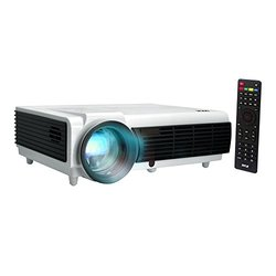 Pyle - LCD Projector - Silver/White