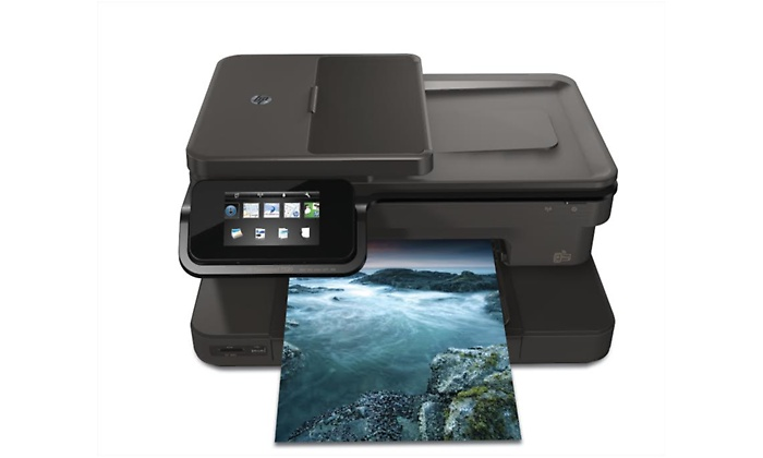 HP Photosmart 7520 All-in-One Printer with WiFi Antenna (CZ045A)