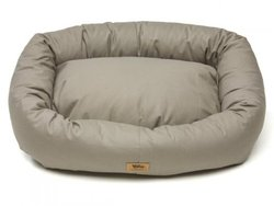 West Paw Design Stuffed Dog Bed - Walnut - Medium