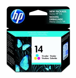 HP 14 Tri-Color Inkjet Ink Cartridge C5010D