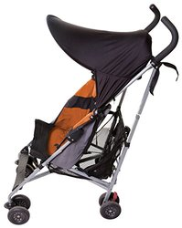 Dreambaby Black Strollerbuddy Extenda-Shade