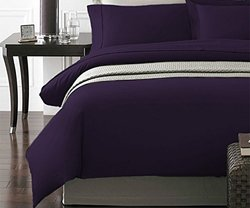 3-piece Duvet Cover Set: Twin/purple