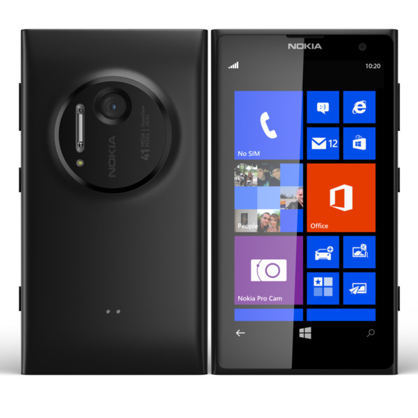 5db7be384c9a8d ... Nokia Lumia 1020 32GB No-Contract Smartphone for AT T - Black ...