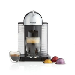 Nespresso Vertuo Coffee Machine - Chrome (GCA1-US-CH-NE)