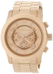 Michael Kors Women's Rose Gold Watch Collection - Oversized Runway