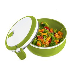 Modernhome Microwavable Lunch Bowl, Chartreuse Green