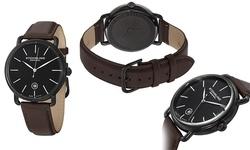 Stuhrling Original Men's Swiss Symphony Dress Watch - Brown/Black