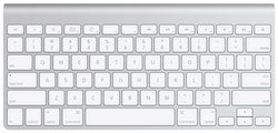 Apple Wireless Keyboard - Silver (MC184LL/B)